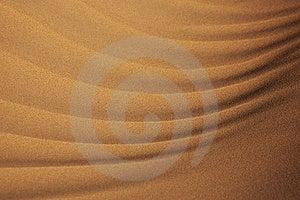 Close-up Of Desert Sand Pattern Stock Photos - Image: 9078513