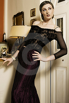 Elegant woman Stock Photography