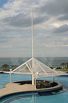 Pool And Sea Stock Images - Image: 9079964