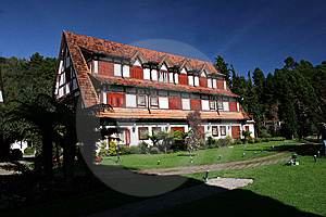 German Style House In Brazil Stock Photography - Image: 9080082