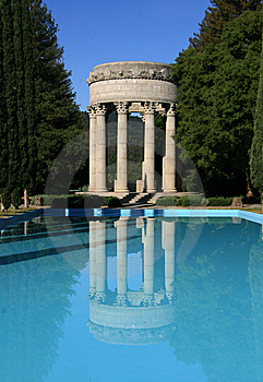 Pulgas Water Temple Stock Images - Image: 9080294