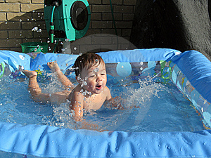 Making A Splash Royalty Free Stock Image - Image: 9080486