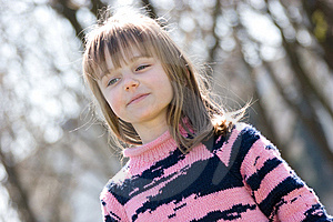 Sweet Little Girl Royalty Free Stock Photos - Image: 9084038