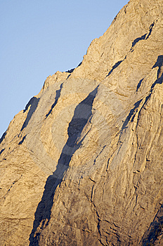 Mountain Wall Royalty Free Stock Image - Image: 9084746