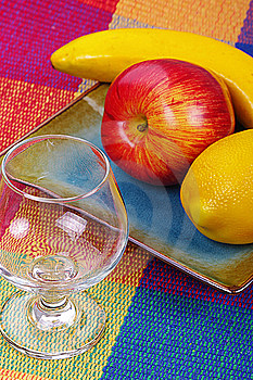 Glass And Fruits Stock Photo - Image: 9085200