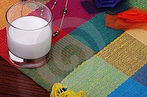 Milk On Blanket Stock Photography - Image: 9085242