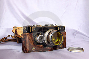Photo Camera Royalty Free Stock Image - Image: 9085266