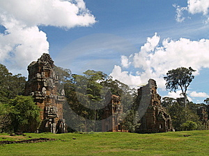 Angkor Archaeological Park Royalty Free Stock Images - Image: 9085279