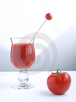Tomato Juice V Stock Photo - Image: 911130