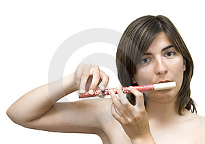 Musician Woman Royalty Free Stock Photos - Image: 913488