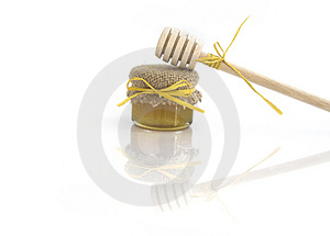 Wooden Honey Royalty Free Stock Images - Image: 913679