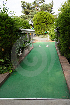 Miniature Golf Hole Stock Images - Image: 916204