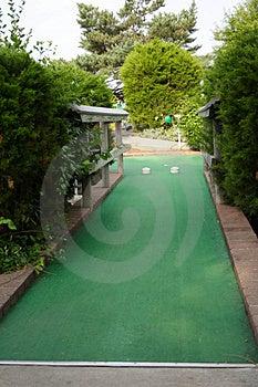 Miniaturowego Golfa Dziura Obrazy Stock - Obraz: 916204