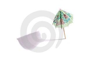 Cocktail Umbrella Stock Photo - Image: 9117860