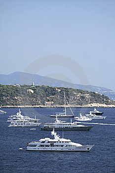 Monte Carlo Harbour Royalty Free Stock Image - Image: 9182826