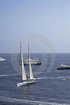 Sail Boat Royalty Free Stock Image - Image: 9182836