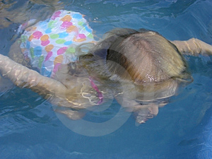 Young Girl In Swimming Pool Stock Image - Image: 9184151