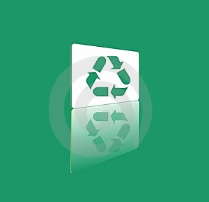 Vector Recycle Symbol Stock Photo - Image: 920730