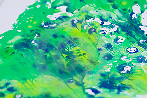 Splattered Smeered And Printed Royalty Free Stock Photos - Image: 922008