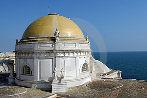 Scenic Views Of Cadiz In Andalusia, Spain - Cadiz Cathedral Stock Photo - Image: 922140
