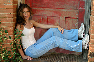 Casual Fashion Model 9 Royalty Free Stock Photo - Image: 922705