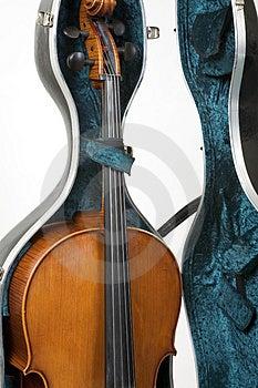 Cello In A Case Stock Photos - Image: 925863