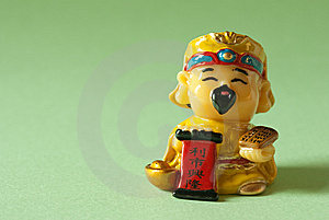 God Of Wealth Royalty Free Stock Photography - Image: 9214117