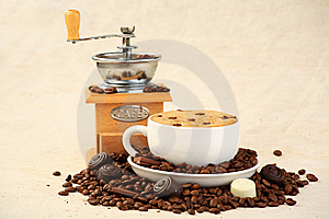 Coffee Composition Stock Image - Image: 9215131