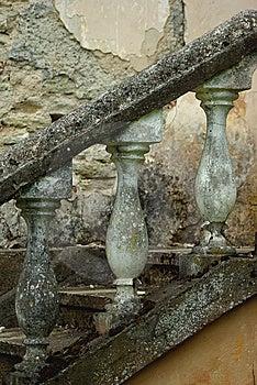 Vintage Handrail Royalty Free Stock Image - Image: 9216656
