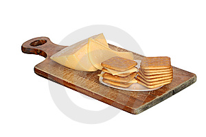 Crackers With Cheese Royalty Free Stock Photos - Image: 9218288