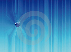 Blue Background Composition Stock Photo - Image: 9219790