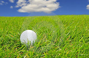 Golf On A Good Day Stock Photo - Image: 9220250