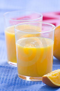 A Delicious Freshness Orange Juice Stock Photo - Image: 9222700