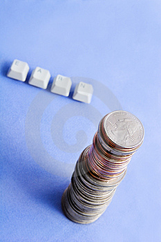 Earn Money Concept Royalty Free Stock Image - Image: 9223436