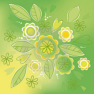 Green Bouquet Stock Image - Image: 9223761