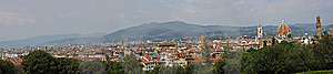Florence Panorama Stock Photography - Image: 9227622