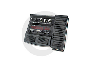 Guitar Multi Effects Pedal Isolated Royalty Free Stock Photo - Image: 9231845
