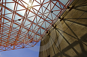 Truss And Shadow Stock Images - Image: 9232694