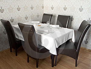 Restaurant Table Stock Images - Image: 9234674
