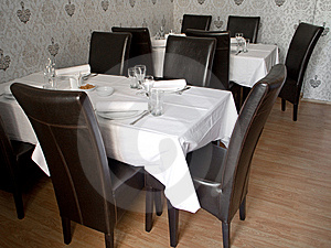 Restaurant Table Royalty Free Stock Photos - Image: 9234878