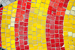 Arty Mosaic Royalty Free Stock Photography - Image: 9234897