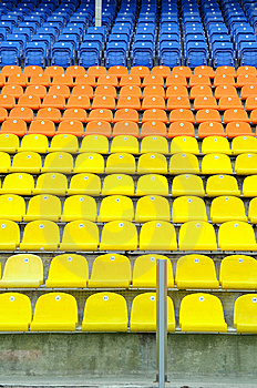 Places For Fans. Stock Photo - Image: 9235550