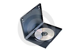 DVD Case With Clipping Path Royalty Free Stock Images - Image: 9236319