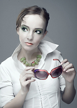 Portrait Of Young Woman Royalty Free Stock Photos - Image: 9237068