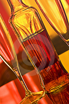Champagne Glasses Royalty Free Stock Photos - Image: 9237908