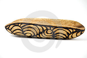 Aboriginal Wooden Tool, Upside Down Stock Images - Image: 9238194