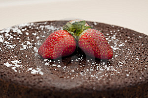 Chocolate Mud Cake Royalty Free Stock Photography - Image: 9241517