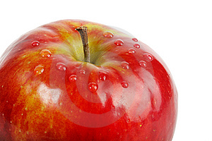 Fresh Red Apple Royalty Free Stock Photos - Image: 9243738