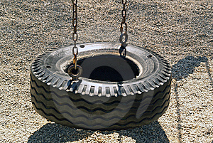 Tire Swing Stock Photos - Image: 9248403