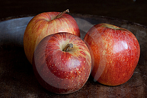 Three Apples Royalty Free Stock Photos - Image: 9249218